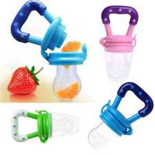Baby Fresh Food Fruit Milk Safe NON-TOXIC Silicone Feeding Pacifier Nipple Teeth