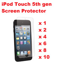 CRYTAL CLEAR LCD SCREEN PROTECTOR COVER GUARD FOR APPLE IPOD TOUCH 5TH 6TH GEN