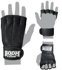 BNU LEATHER GYM GLOVES FITNESS WEIGHT LIFTING TRAINING BODYBUILDING CROSSFIT