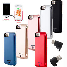 5000mAh Portable Power Pack External Battery Charger Case For iPhone 6/6S/7