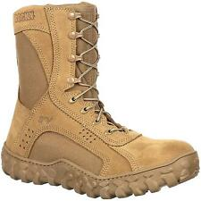 Rocky S2V Steel Toe Tactical Military Boot Coyote Brown USA Made