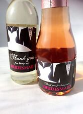 Thank you for being our Bridesmaid, Chief Bridesmaid, Maid of Honour Mini Labels