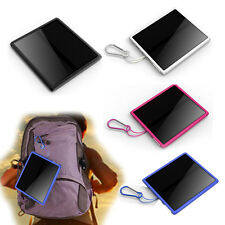 Portable 12000mAH Solar Power Bank External Battery Charger For iPhone Samsung