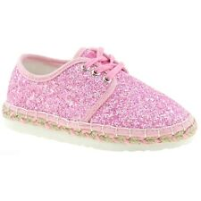 Lelli Kelly LK4608 (LC01) Rose Glitter Ibiza Lightweight Espadrille Shoes