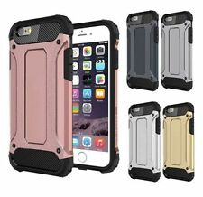 LUSSO Premium Ultra DIFFICILE CUSTODIA COVER e vetro temperato per iPhone
