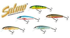 Salmo Minnow M9F Wobbler Lure 9cm-10g Floating Trout/Pike/Perch Fishing FREEPOST