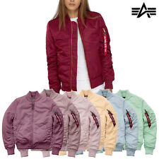 ALPHA INDUSTRIES giacca da donna MA-1 VF 59 Bomber invernale XS - XXL