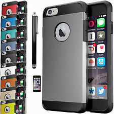For Apple iPhone 6 S PLUS Hybrid Armor ShockProof Protective Hard Case
