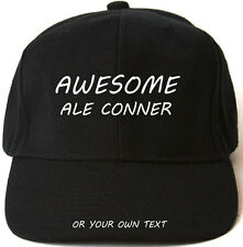 AWESOME ALE CONNER PERSONALISED BASEBALL CAP HAT XMAS GIFT