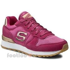 Schuhe Skechers Goldn Gurl 111 fus Sneakers Damen Memory Foam Fuchsia Casual