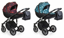 Baby Pram Pushchair Stroller Anex Sport Q1 + Car Seat, Baby Travel System 3in1