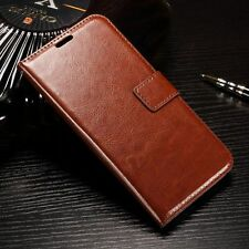 Luxury Leather Magnetic Flip Wallet Card Cover Case For Various Mobile Phones