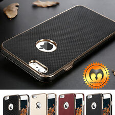 Ultra-thin Luxury Hybrid Leather Protective Case Cover For iPhone 6 6S