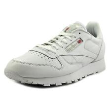 Reebok Reebok Classic Men  Round Toe Leather White Sneakers