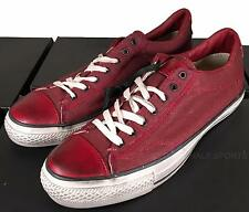 Converse by John Varvatos Coated Canvas All Star Ox Sneaker Biking Red 1453