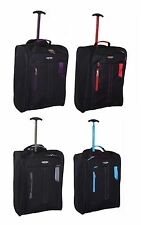 Ryanair Easyjet Flybe Cabin Approved Flight Trolley Suitcase Luggage Case Bag UK