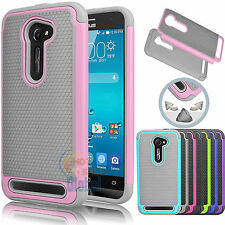 Hybrid Impact Dual Layer Shockproof Case Cover for ASUS Zenfone 2E ZE500CL