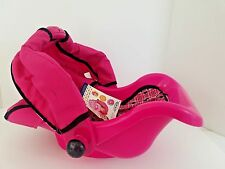 Graco 3-in-1 Doll Travel Car Seat with Canopy (Purple and Pink) NWT