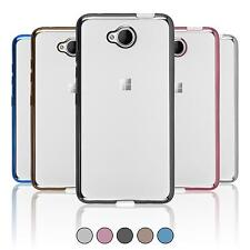 Custodia Microsoft Lumia 650 Slim Fit  Cover Lumia 650 in silicone Case