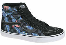 Vans Off The Wall SK8 Hi Reissue Checker Floral Lace Up High Tops