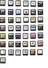 """ Original "" NINTENDO DS NDS GAME ( Cartridge Only ) Choose Title From Drop Down"