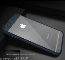 Transparent Luxury Soft TPU+Hard PC Back Cover Case For Apple iPhone 7 Plus -5.5