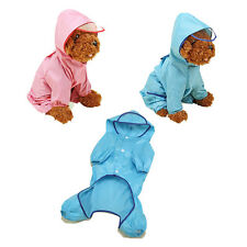 TY Dog Raincoat Pet Clothes Waterproof Rain Jacket For Rainy Day Outdoor
