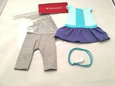 American Girl Color-Block Dress 3 Piece Set for 18