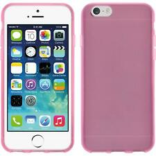 Funda de silicona Apple iPhone 6s / 6 transparente rosa
