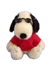 Deb Canham - FairyTales Exclusive - Joe Cool Snoopy in Red LE50