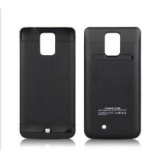 External 4800mAh Backup Power Bank Battery Charger Case Cover For Samsung Note 4