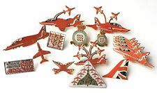 Get ready for the RAF Red Arrows Display Team Season with enamel badges