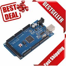 Mega 2560 R3 REV3 ATmega2560-16AU Board Free USB Cable Compatible For Arduino TR