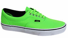 Vans Off The Wall Era MLX Unisex Neon Green Lace Up Canvas Trainers VHQAO6 VC