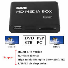 Full HD 1080P Disk HDD Media Player USB External Multimedia Media Player ET