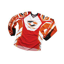 Enfants Jeunesse Alloy Motocross Mx Maillot Jersey 05 Essence Rouge/Orange