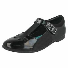 Clarks Senior Girls T-Bar Shoes 'Selsey Play'