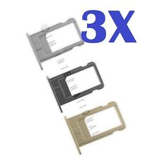 3X iPhone 6   iPhone 6 Plus Sim Card Tray SIM Tray Slot Holder Replacement Part