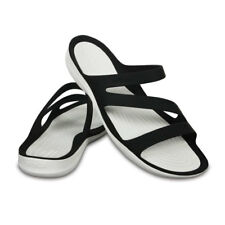 Crocs SWIFTWATER SANDAL WOMAN Nero mod. BLACK-WHITE