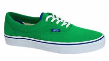 Vans Off The Wall Era MLX Unisex Green Lace Up Canvas Trainers W3CEC4 Vans C
