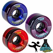 Clouds Quantum Urethane Roller Skate Wheels Outdoor Flat Back Hybrid 80a