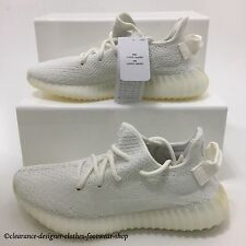 ADIDAS YEEZY BOOST 350 V2 TRAINERS in TRIPLE CREAM WHITE SHOES