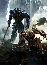 TRANSFORMERS THE LAST KNIGHT POSTER A4 A3 A2 A1 CINEMA FILM MOVIE LARGE TEXTLESS