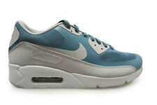 Mens Nike Air Max 90 Ultra 2.0 Essential - 875695 001 - Blue Grey Trainers