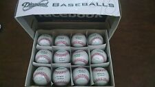 Diamond D-Ob Official Leather Baseballs 12 Pack