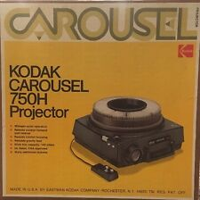 KODAK CAROUSEL 750H PROJECTOR w TRANSVUE 140 Slide Tray - BRAND NEW ORIGINAL BOX