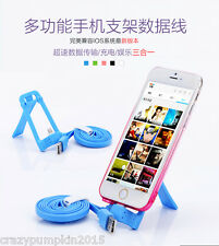 iPhone 5/SE/6/7 Plus Coteetci Lightning USB Data Sync Charging Cable Dock Stand
