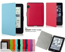 """Ultra Slim Magnetic Leather Flip Case Cover for Amazon Kindle Voyage Wi-Fi 3G 6"""""""
