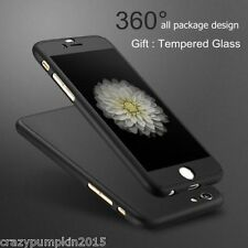 *360 Degree* Full Body Protection Front + Back Cover Case for Apple iPhone 6 6S