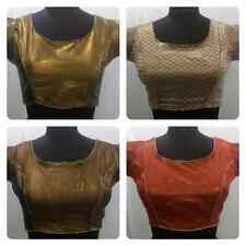 Readymade Saree sari Blouse size fit 36in/90cm  bust size, PADDED